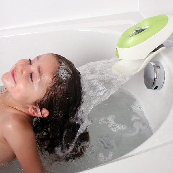 Flo Water Deflector & Bubble Bath Dispenser.