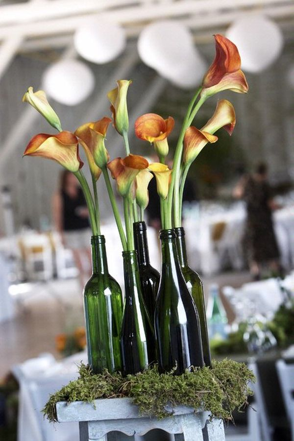 24 stunning wine bottle centerpieces you never thought could 24 stunning wine bottle centerpieces you never thought could complement a special event junglespirit Images