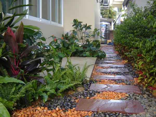 55 inspiring pathway ideas for a beautiful home garden - Jardines de casas particulares ...