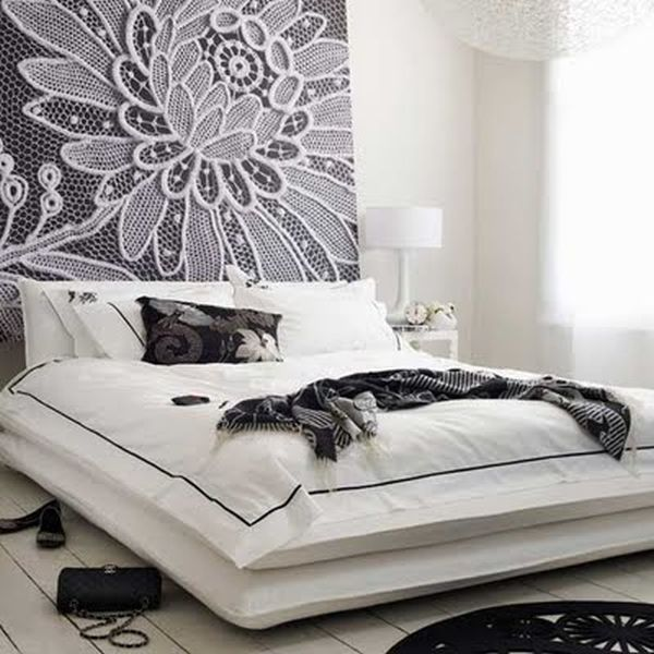 No Headboard 101 headboard ideas that will rock your bedroom