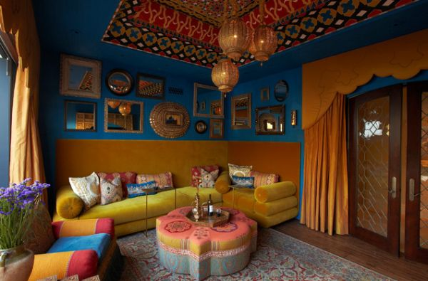 Bold Colours View In Gallery Moroccan Interior Design