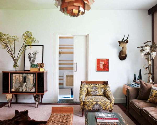 Wonderful Vintage Madrid Villa With Influences From The 50s And 60s