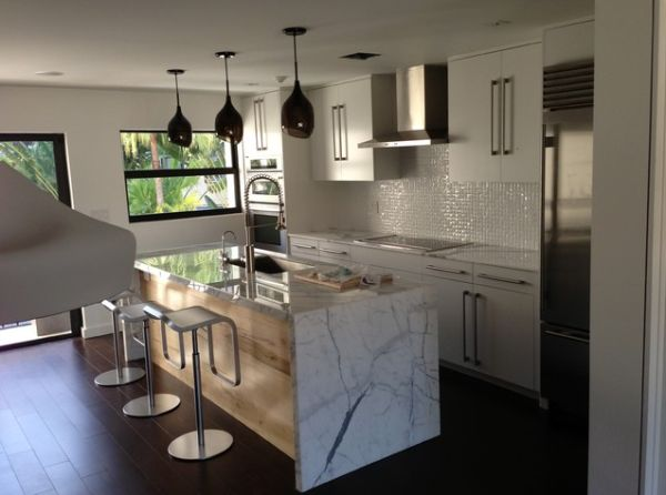 Marble Kitchen Countertops Are Coming Back ?