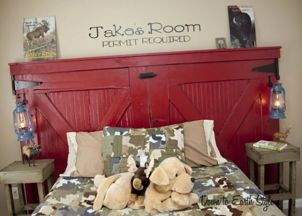... View in gallery And this idea ... - 101 Headboard Ideas That Will Rock Your Bedroom
