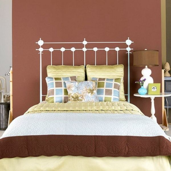 headboards painted on the wall - Headboard Design Ideas
