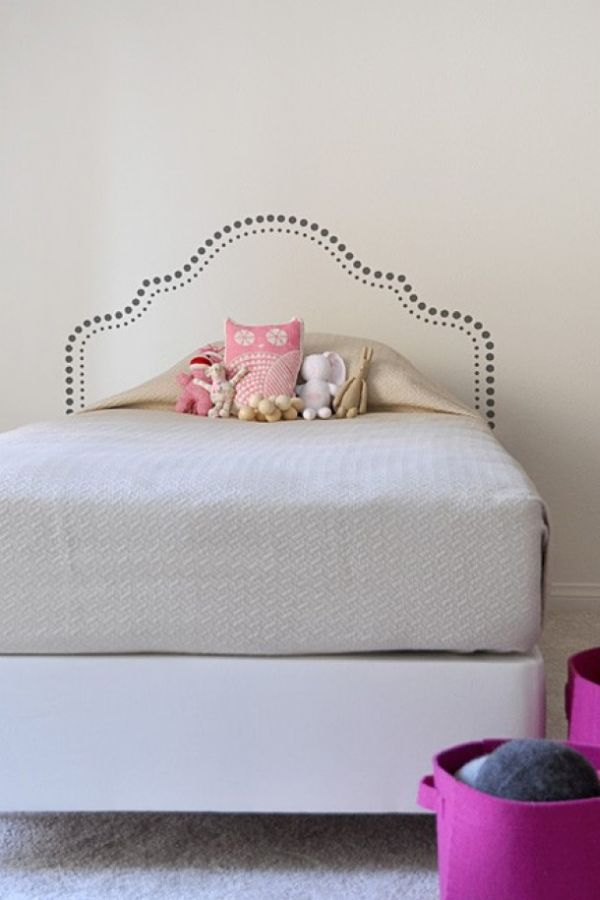 painted headboard ideas