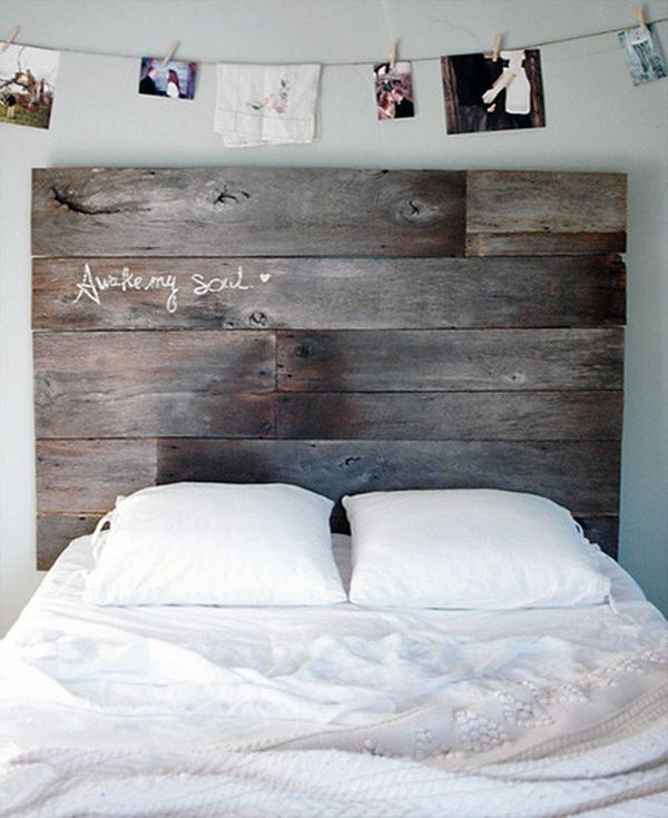 Headboard Decorating Ideas Part - 15: Wood/reclaimed Wood/pallet Headboards.