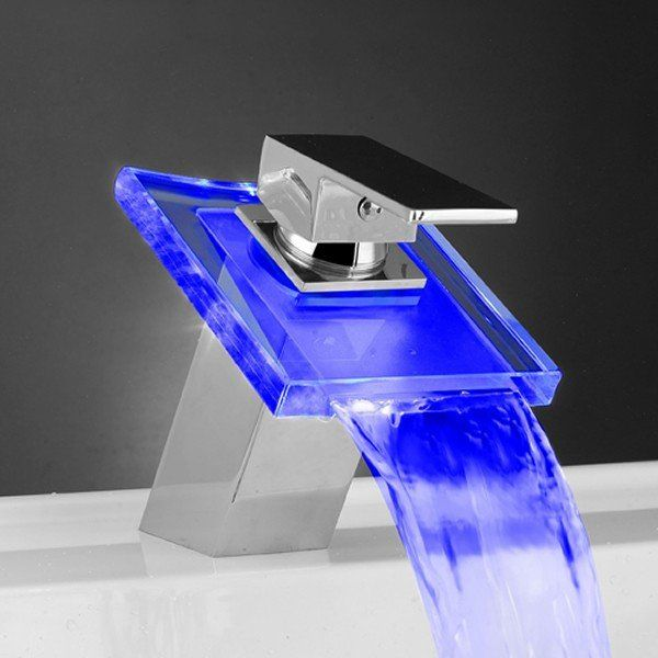 modern bathroom faucets.  Temperature Sensitive Faucets For Modern Homes