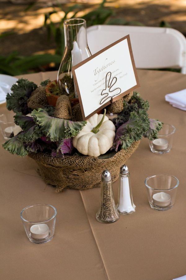 20 Centerpiece Ideas For Fall Weddings
