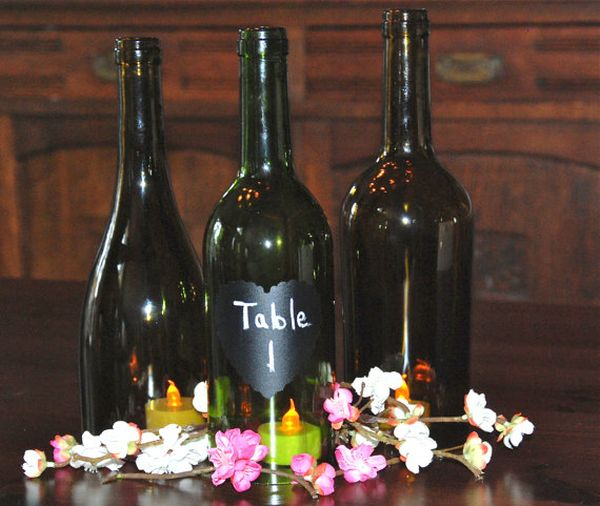 A Bottle Of Wine On A Coffee Table