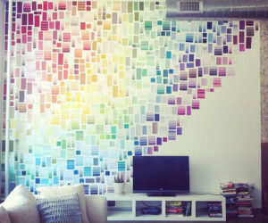 Paint Chip Crafts For Those Who Love Colors