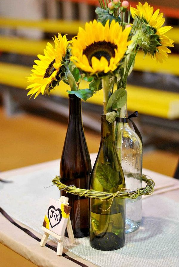 24 Stunning Wine Bottle Centerpieces You Never Thought Could