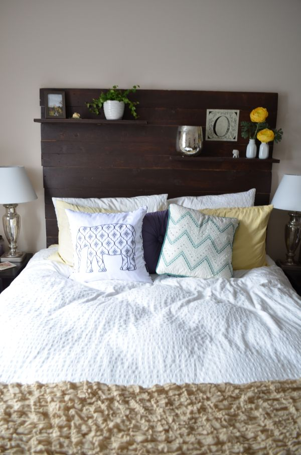Marvelous Headboard Decorating Ideas Part - 2: Home Decorating Trends U2013 Homedit