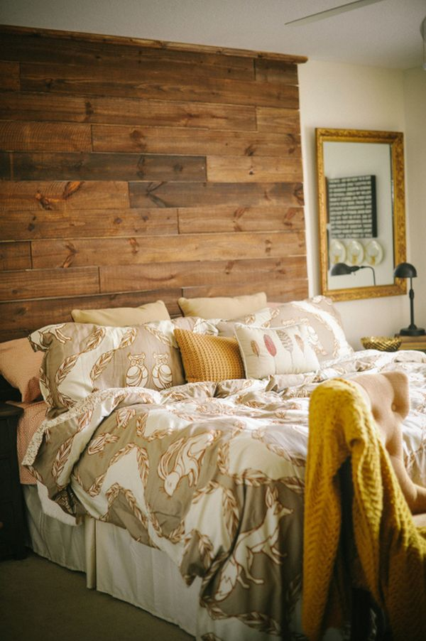 pallet ceiling ideas - 101 Headboard Ideas That Will Rock Your Bedroom