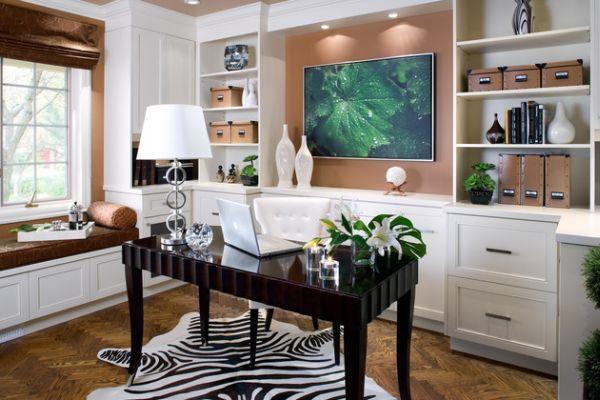 Feminine Desk Home Design Ideas, Pictures, Remodel and Decor
