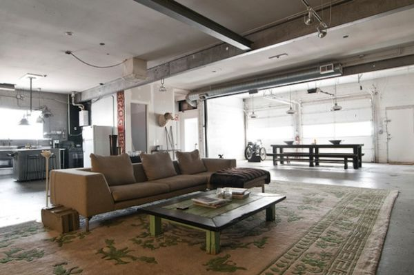 Delicieux From Garage To Industrial Chic Home