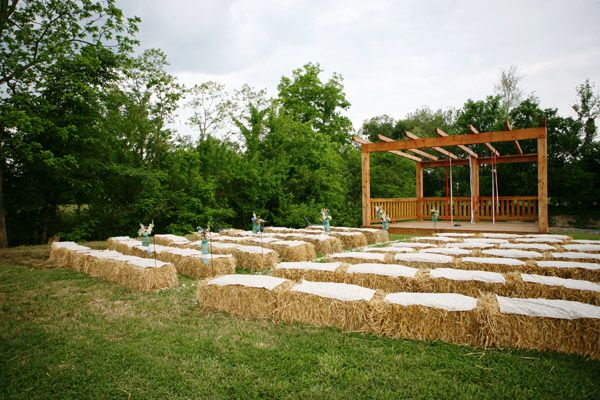 View In Gallery The Straw Bale Seats