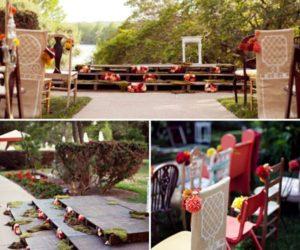 10 Original Altar Design Ideas For Outdoor Weddings