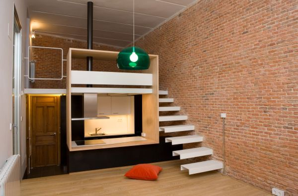 Out Of The Box Renovation For A 37sq M Apartment In Madrid S Historic Downtown