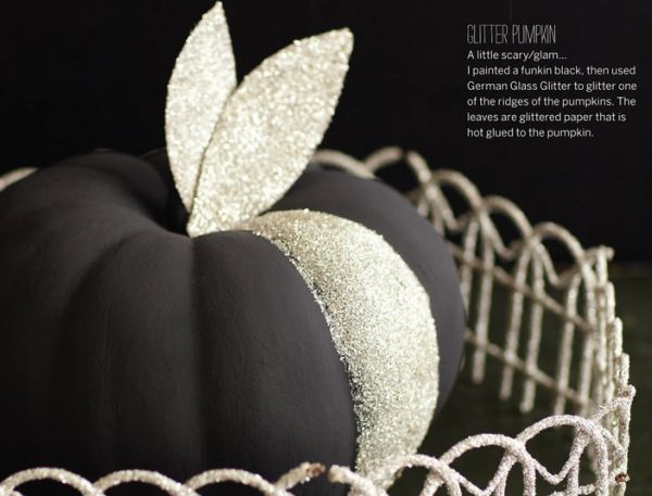 15 Glam Pumpkin Designs For A Glitzy Fall And Halloween D 233 Cor