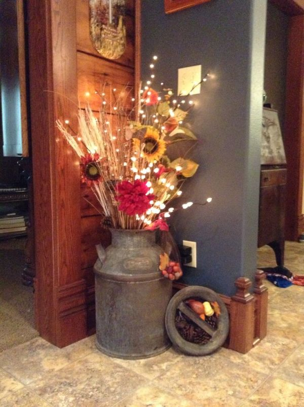 59 Incredibly Simple Rustic Décor Ideas That Can Make Your: 15 Unique Ideas To Displays Flowers To Create A Centerpiece