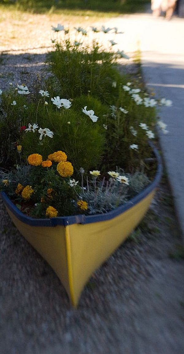 17 Simple Ways To Repurpose A Canoe