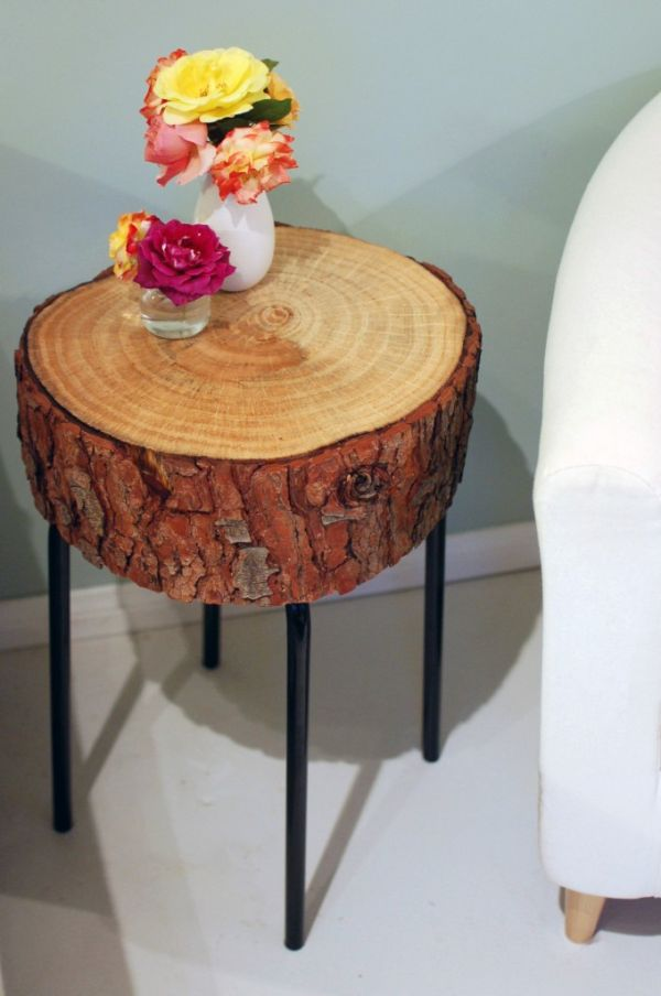 Log Slice Coffee Table.