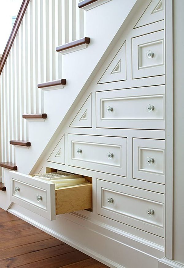 20 Smart Under Stairs Design Ideas: Smart Stairs: Squeezing Space Out Of Your Staircase