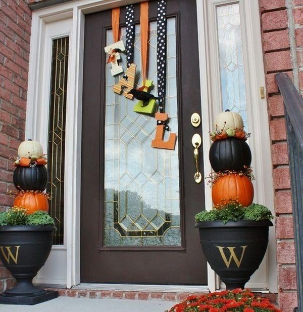 creative fall ideas get into the seasonal spirit 15 fall front door dcor ideas
