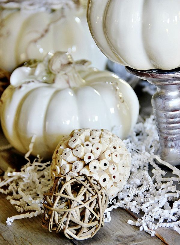 15 glam pumpkin designs for a glitzy fall and halloween dcor - Pumpkin Decor