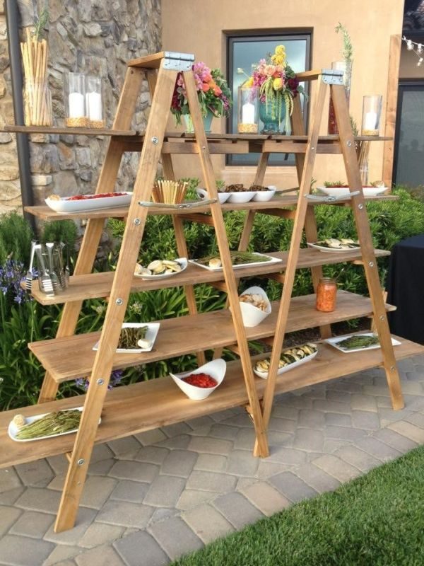 Nice 15 Creative Ways In Which You Can Use Ladders For Shelving