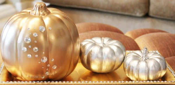 15 Glam Pumpkin Designs For A Glitzy Fall And Halloween Décor - photo#15