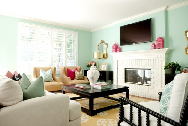 Minty Interior Decors Showcasing A Soft Yet Vibrant Look