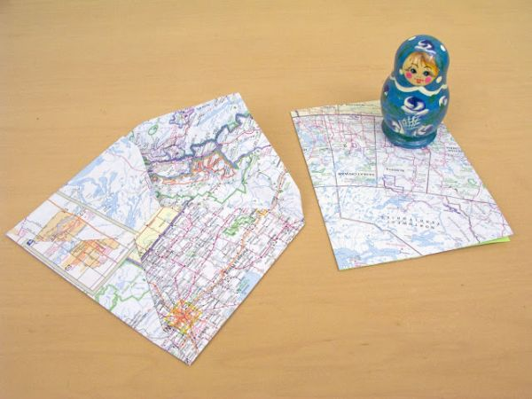 10 Ingenious And Original Ways Of Using Maps In DIY Projects