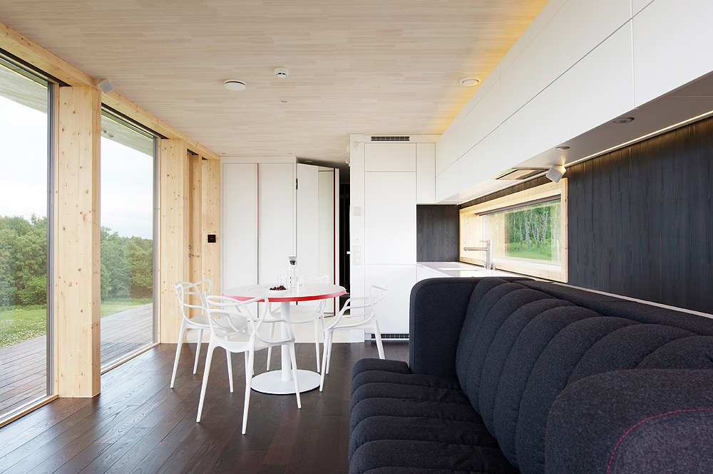 Compact House Concept Designed To Serve As An Extension
