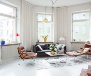 A Touch Of Modern Flair In A Scandinavian Apartment