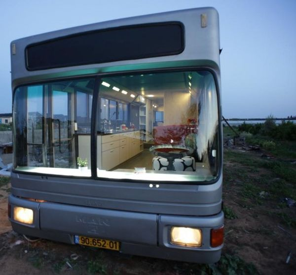 The Story Of How An Old Public Transportation Bus Became A Home