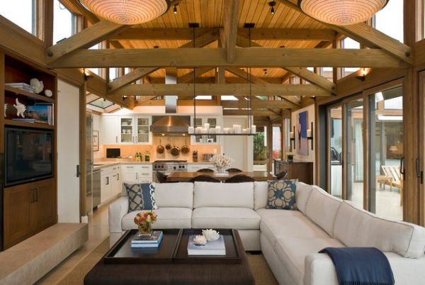 What to do with large spaces for Living room zones
