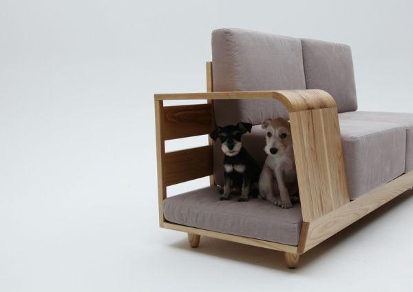 Lovely Dog House Sofa.