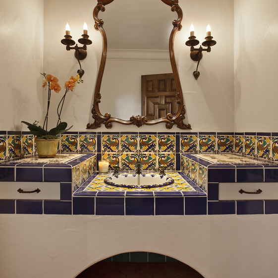 Bathroom Mediterranean Style: Design A Stunning Spanish Bathroom