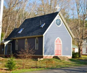Small Church Transformed Into A Beautiful Vacation Home