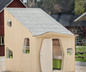 Smart And Eco-friendly Student Unit Measuring Only 10 Square Meters