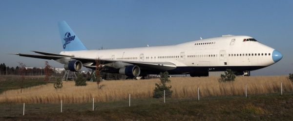 Boeing 747 Converted Into A Hostel In Stockholm