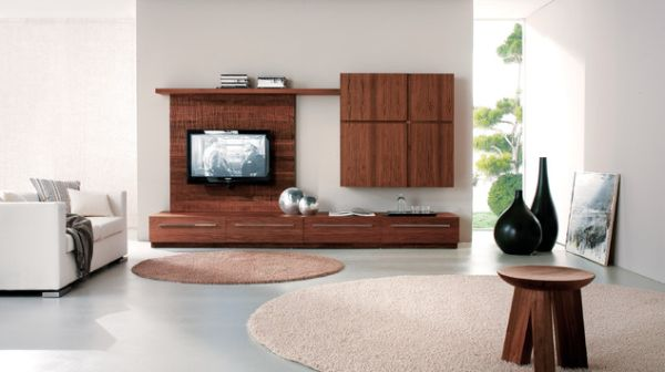 View In Gallery Display Media With Cabinets