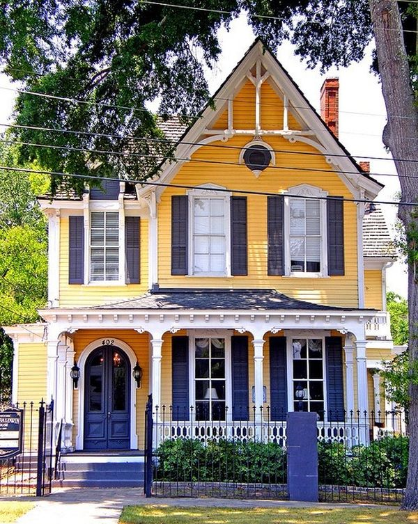 The Best Colors To Paint The Outside Of Your House With Delectable Vintage Bedroom Pinterest Exterior Property