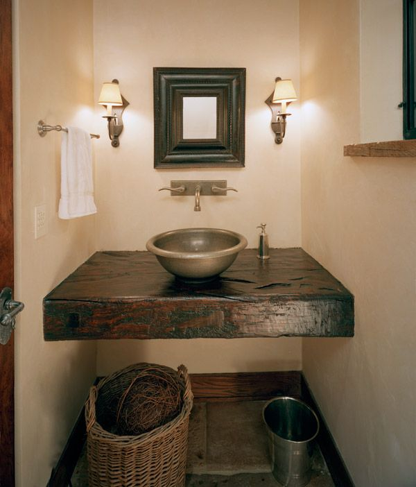 Old World Influenced Bathroom Vanities
