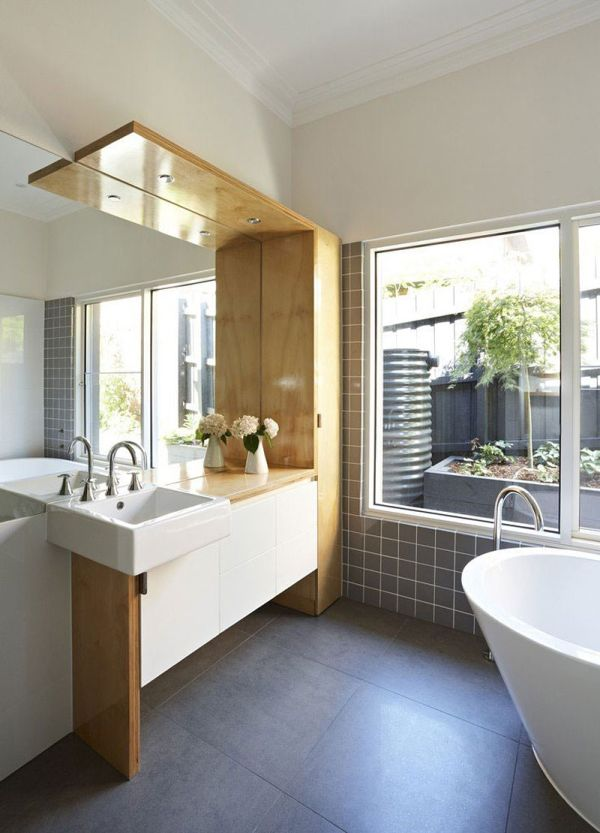 Wonderful White And Wood Bathroom Ideas Part - 6: 63 Contemporary Bathroom Ideas For A Soothing Experience