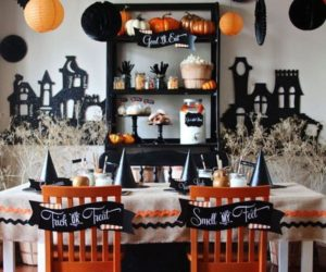 party themed dcor ideas for halloween - Halloween Room Ideas