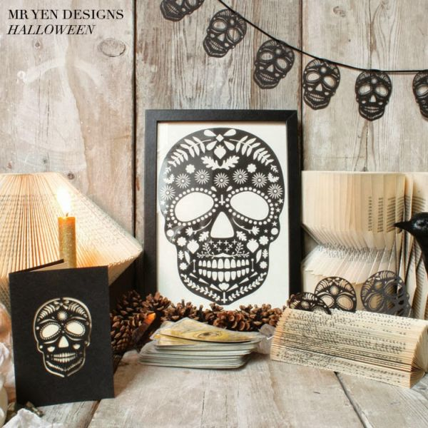 home decorating trends homedit - Sophisticated Halloween Decorations