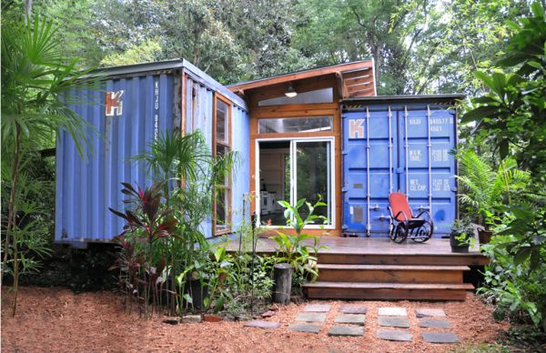 Houses Made Out Of Containers Inspiration Ecofriendly House Made From Two Shipping Containers Design Ideas
